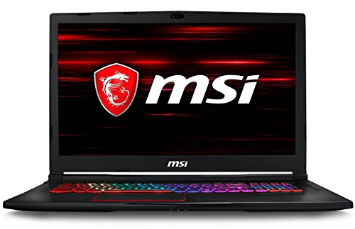 MSI GE73 Raider RGB 8RF-212IT Notebook da Gaming, 17.3' FHD ,Intel i7-8750H, 16 GB di RAM, SSD da 256 GB NVMe e HDD da 1 TB, Scheda Grafica nVidia GTX 1070, Windows 10 Home [Layout Italiano]