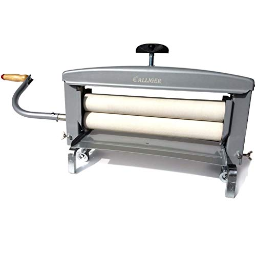 Calliger Hand Crank Clothes Wringer 14' Rollers - More Space to Wring Than Any Other Brand | Manual...