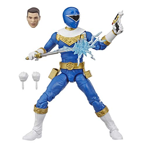 Power Rangers Lightning Collection 6-Inch Zeo Blue Ranger Collectible Action Figure Toy with Accessories