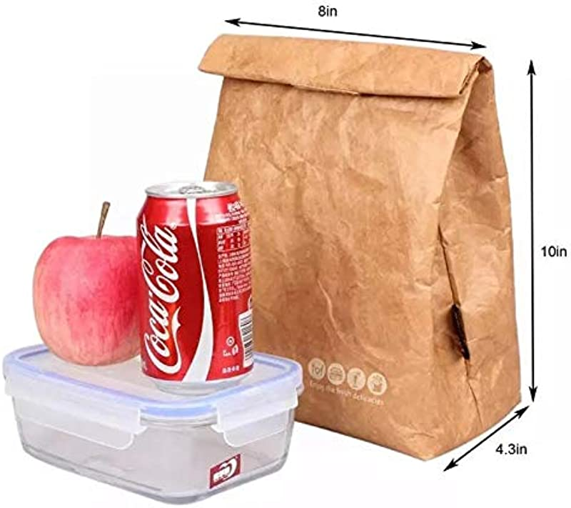 Reusable Lunch Bag With Thermal Insulation For School Office Picnic And Everyday Use Keep Food Warm Or Cold