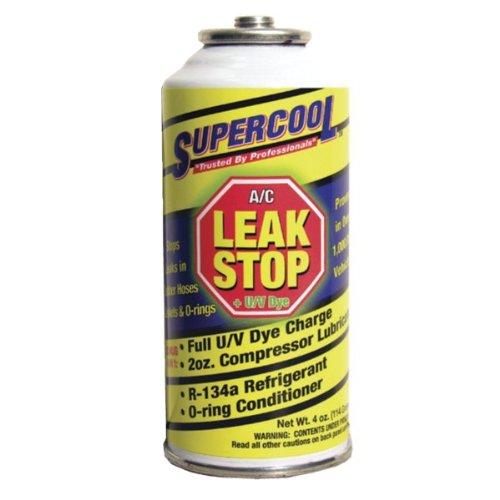 Supercool Aerosol A/C Leak Stop Seals, 4 Oz