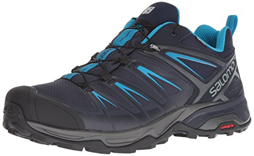 SALOMON X Ultra 3 GTX Men, Scarpe da Arrampicata Basse Uomo, Grigio (Graphite/Night Sky/H 000), 43 1/3 EU