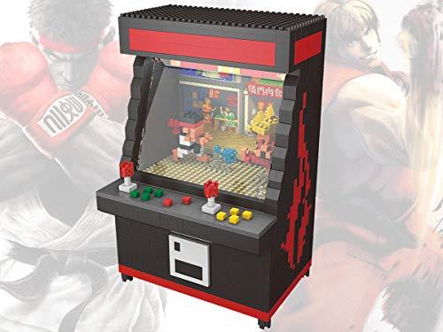 Street Fighter Arcade Juego Modelo Bloque de Construcción Conjunto 1060pcs - Nano Micro Bloques DIY Juguete para Niños (Normal)