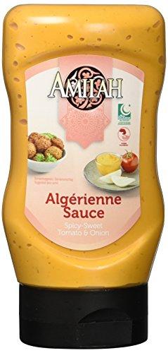 Amilah Halal Algerienne-Sauce, 12er Pack (12 x 321 g)