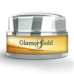 INCREASE SKIN'S HYDRATION& IMPROVE TEXTURE – A deeply-penetrating, age-defying spa-quality moisturizer Glamor Gold helps boost your natural collagen production and hydrate your pores with hyaluronic acid and essential peptides. AGE RENEWAL – Designed...
