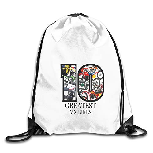 BEST MOTOCROSS BIKES EVER Drawstring Bags Eat Sleep Dance Repeat Beam Mouth Backpack Basketball Tennis Gympack