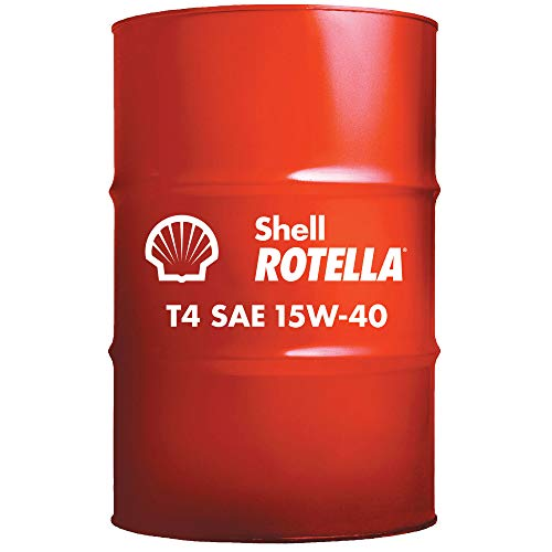 Shell Rotella T4 Triple Protection Conventional 15W-40 Diesel Engine Oil (55-Gallon Drum)