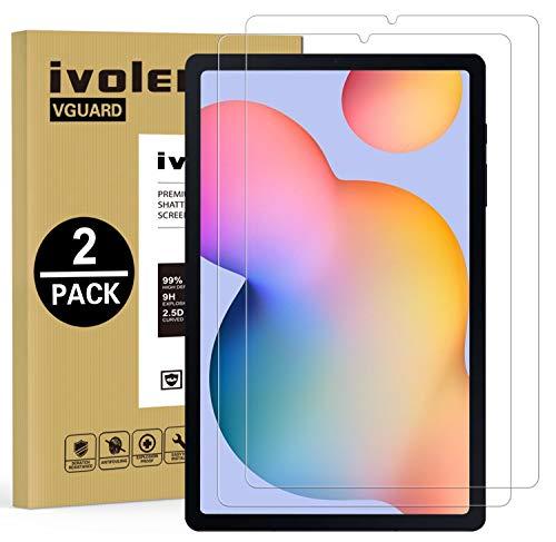 ivoler 2 Unidades Protector de Pantalla para Samsung Galaxy Tab S6 Lite...