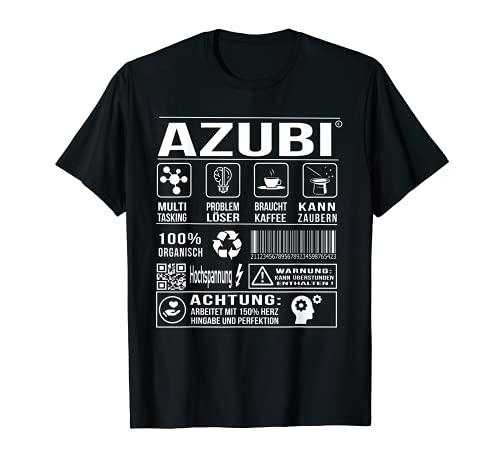 Lehrling Auszubildender Stift Witz Humor T-Shirt
