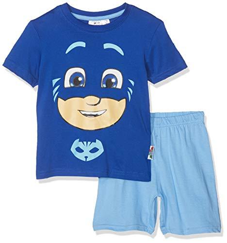 PJ Masks Jungen 5964 Zweiteiliger Schlafanzug, Blau, 98