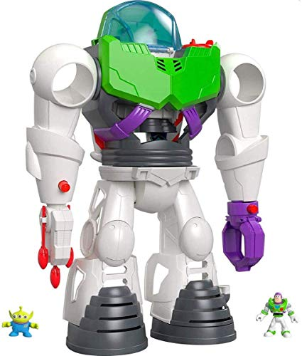 Fisher-Price Price Imaginext Disney Toy Story 4 Robot Buzz Lightyear, Juguetes Niños 3 Años (Mattel GBG65)