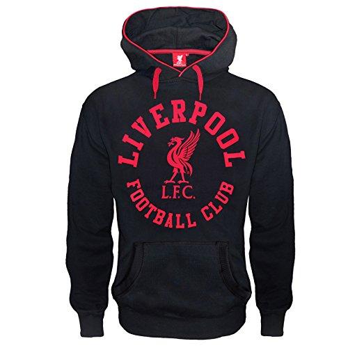 Liverpool FC - Herren Fleece-Hoody mit Grafik-Print - Offizielles Merchandise - Geschenk für Fußballfans - L