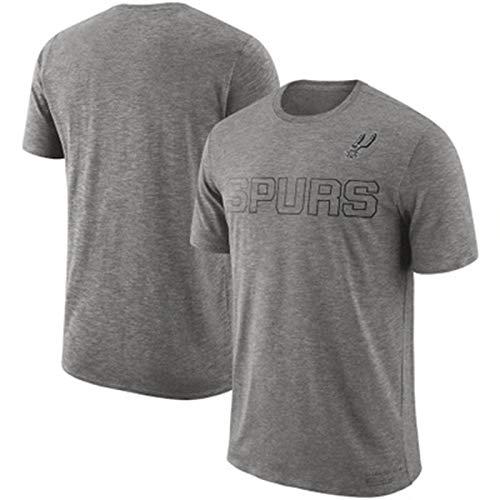 YDYL-LI Baloncesto Jersey Uniforme All-Star Camiseta para Hombre # San Antonio Spurs Teens Sweatshirt Fan Training Jerseys Tops Jerseys para Casual, Cómodo,S