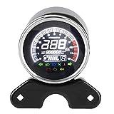 Tacómetro del Velocímetro del Odómetro del Odómetro de la Motocicleta del Indicador Digital para la Motocicleta CG-125, GN125, etc.