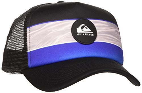 Quiksilver Herren Cap Tijuana- Truckerkappe Für Männer, Dazzling Blue, 1SZ, AQYHA04567