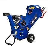 DENQBAR Gartenhäcksler/Gartenschredder mit 5,1 kW (7 PS) Benzinmotor