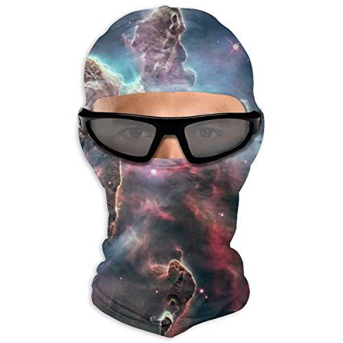 N/Een Volledig Gezicht Masker Carina Nebula Beeld Door De Hubble Space Telescop Hood Zonnebrandcrème Masker Dubbele Laag Koud Voor Mannen En Vrouwen