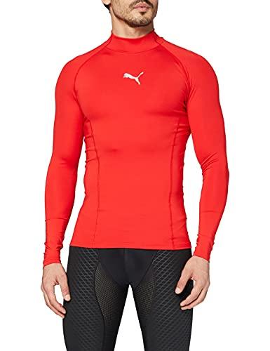 PUMA Liga Baselayer Sous-vêtement fonctionnel Homme Puma Rouge FR : L (Taille Fabricant : L)