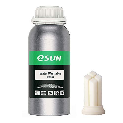 eSUN 405nm - Impresora LCD 3D de resina rápida de curado UV, resina lavable al agua, resina fotopolímero, para impresora LCD 3D de...