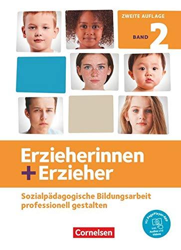 Erzieherinnen + Erzieher - Neubearbeitung: Band 2 - Professionelles Handeln im sozialpädagogischen Berufsfeld: Fachbuch. Mit PagePlayer-App