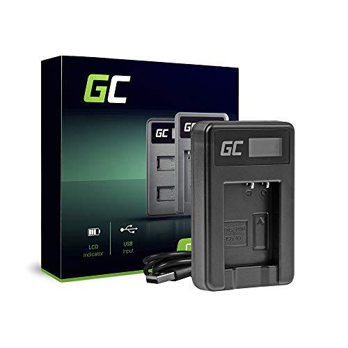 Green Cell® DE-A65BB Ladegerät für Panasonic DMW-BCG10 Akku und Lumix DMC-TZ7 TZ8 TZ10 TZ20 TZ25 TZ6 TZ18 TZ29 TZ30 TZ31 TZ36 TZ31 TZ66 ZS1 ZS3 ZS5 ZS10 ZS20 ZR1 ZR3 (5W 8.4V 0.6A Schwarz)