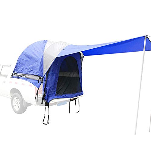 Bloomma Truck Tent Truck Bed unting Camping & Shelter Protects from Rain & Sun Carrying Pouch and Hanging Kit