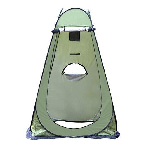 qianqian Pop-up-Zelt, Tragbares Strandcamp, Camping-Toilettenzelt, Privates Duschzelt Tragbar, Zum Wechseln Im Freien, Baden, Toilette, Lagerraumzelte, Tragbar Mit Tragetasche | Grün | 47x47x75 ''