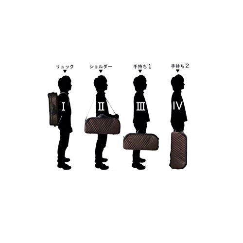 NEPTUNE管楽器用軽量ケースアルトサックス用リュックタイプAS-830ブラック