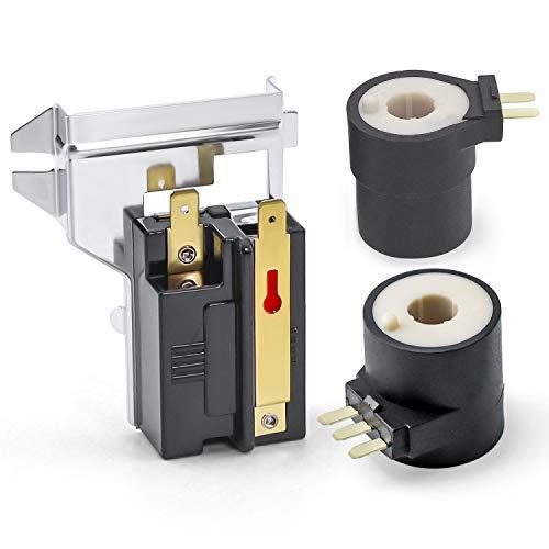 Cenipar 338906 & 279834 Gas Dryer Flame Sensor Valve Solenoid Coil Kit