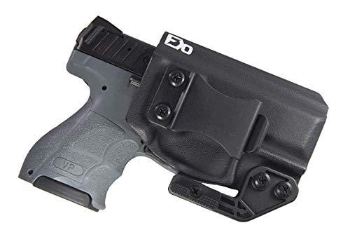 Fierce Defender IWB Kydex Holster H&K VP9SK The Paladin Series -Made in USA- (Black)