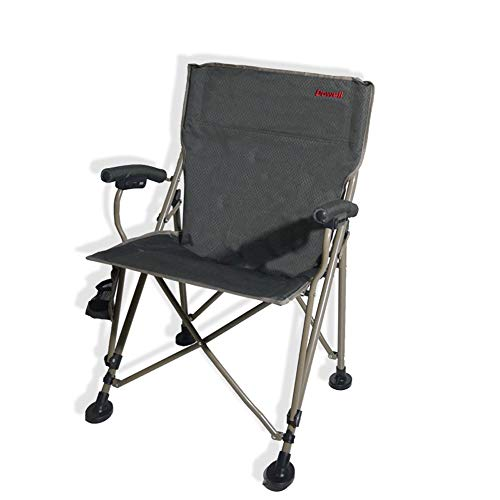 Black /& Orange Léger Pliable Camping Plage capitaines chaise