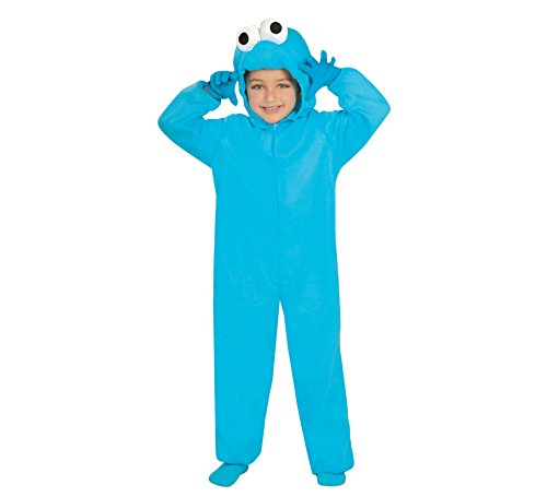 Guirca Disfraz de Monstruo el Coco Azul para nios