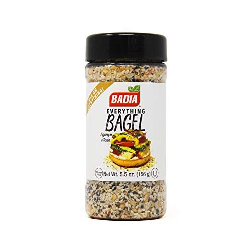 Badia Everything Bagel Mix Seasoning, 5.5 Ounce Bottle