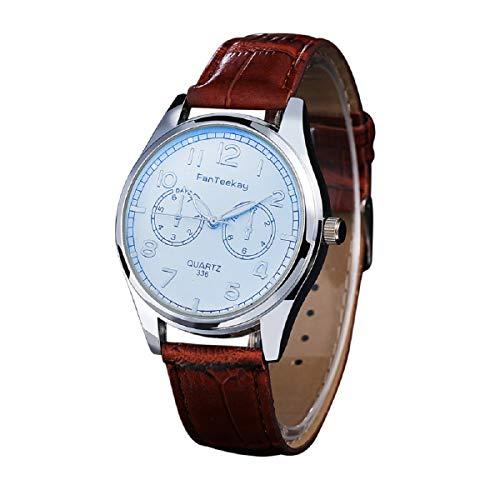 Armbanduhr LANOWO FüR MäNner Mode Leder Edelstahl Sport Nachtleuchtende Armbanduhr Verkaufen Sich Wie Warme Semmeln Watch