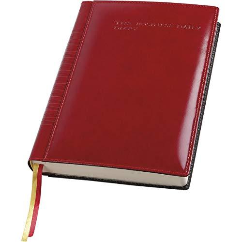 Business presidente 2020 agenda giornaliera (17x24) rosso in ecopelle lucida