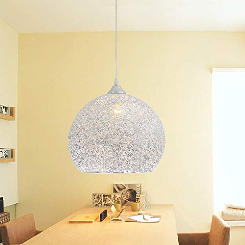 CUICANH Moderner Led Pendelleuchten,Einkopf Aluminiumdraht Handarbeit Gewebt Nest Hngeleuchte Restaurant Schlafzimmer Lampen-25CM dīamitr Durchmesser25cm(9inch)
