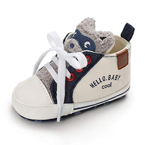 LACOFIA Sneaker Bambina Scarpe Primi Passi con...