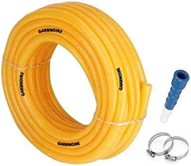 GARBNOIRE Flexible 0.5 inch & 15 Mt Long Garden Water Pipe/PVC Pipe/Garden Outdoors Pipes with Hose Connector