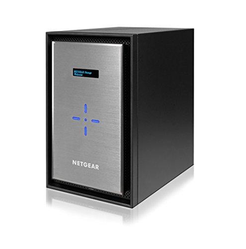 NETGEAR NAS ディスクレス 8ベイ 最大接続目安120台 10G BASE-T搭載 アンチウィルス クラウド対応 ReadyNAS...