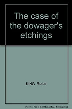 Hardcover The case of the dowager's etchings Book