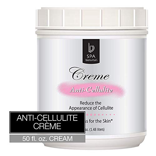 Bon Vital' Anti-Cellulite Crème, Cellulite Remover, Best Cellulite Treatment Cream, Decrease Fat Deposits and Water Retention, Reduce The Appearance of Cellulite, Enhance Skin Firmness, 50 Ounce Jar