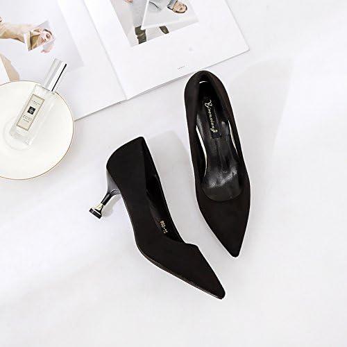 Xue Qiqi Cuisine fine et hauts talons pointe body light-wild, travailler avec des chaussures simples