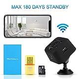 LIVCRT 180 Days Standby Wireless Mini WiFi Camera Magnetic Nanny Cam Security Camera