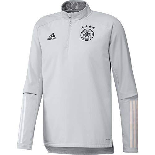 adidas Alemania Temporada 2020/21 Sudadera Warm, Unisex, Gris (Clear Gray), XL
