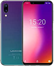 UMIDIGI One, 4GB+32GB, Global Band Dual 4G, Dual Back Cameras, Face ID & Side Fingerprint Identification, 5.9 inch Android 8.1 MTK Helio P23, 4G (Twilight)