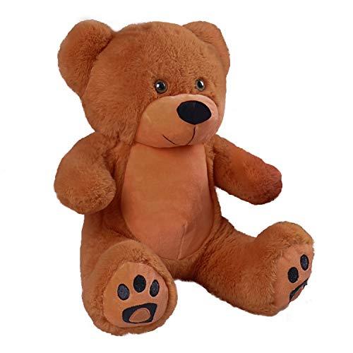 VERCART Small Cute Stuffed Animals Plush Cuddly Teddy Bear Toy Doll for Birthday Children's Day Valentine's Day, Deep Brwon , 10Inches