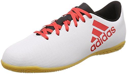 Adidas X Tango 17.4 In J, Zapatillas de fútbol Sala Niños Unisex niño, Gris (Gris/Correa/Negbas 000), 28.5 EU