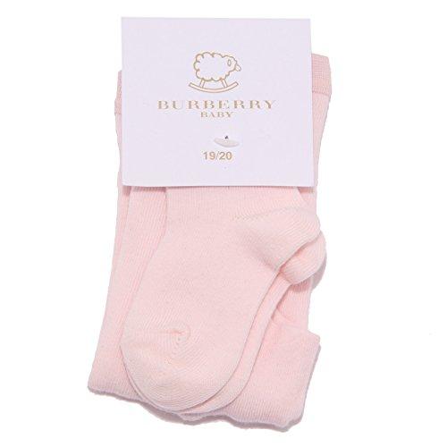 BURBERRY 1327W calzamaglia bimba pink cotton tights girl kid [19/20]