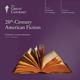 20th-Century American Fiction audiobook cover art