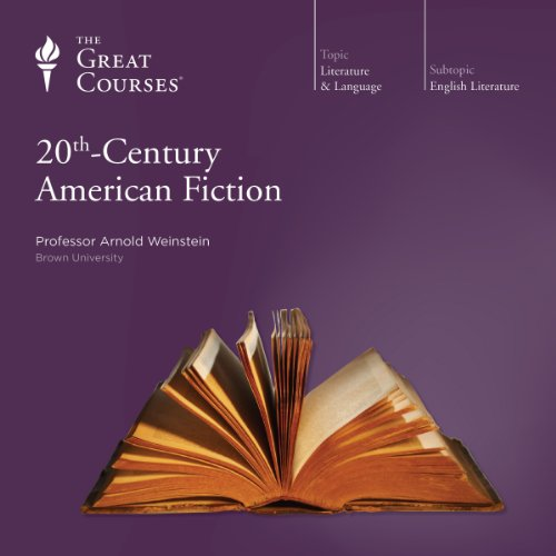 Page de couverture de 20th-Century American Fiction